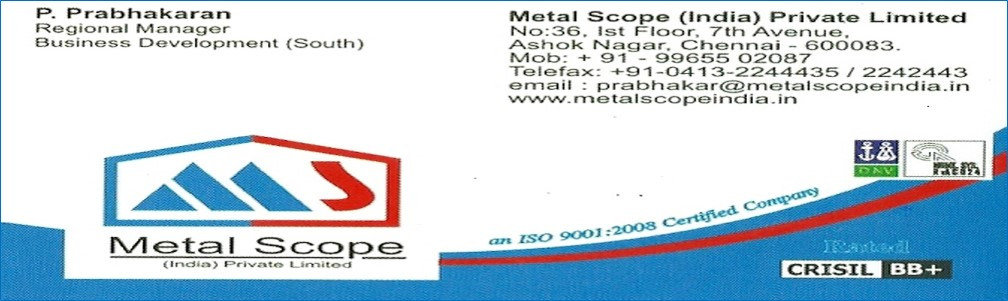 METAL SCOPE(INDIA) PVT LTD