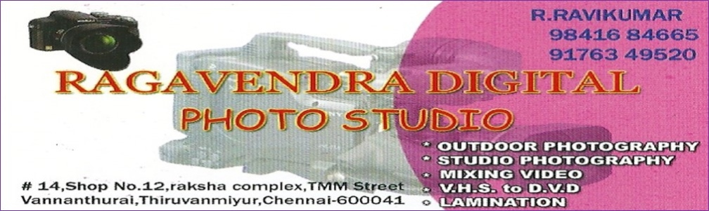 RAGAVENDRA DIGITAL PHOTO STUDIO