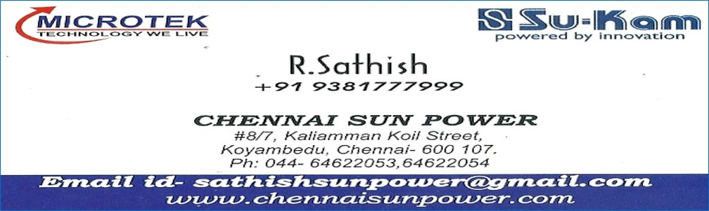 CHENNAI SUN POWER