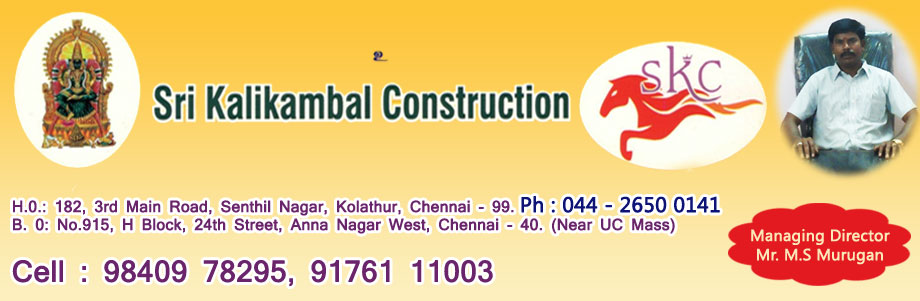 SRI KALIKAMBAL CONSTRUCTION