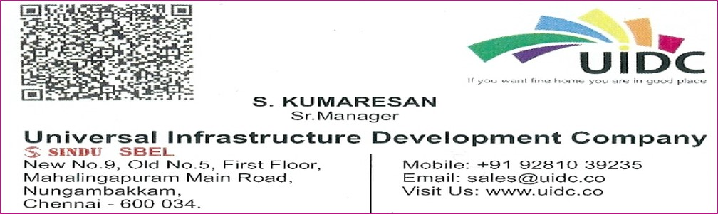 UNIVERSAL INFRASTRUCTURE DEVELOPMENT COMPANY