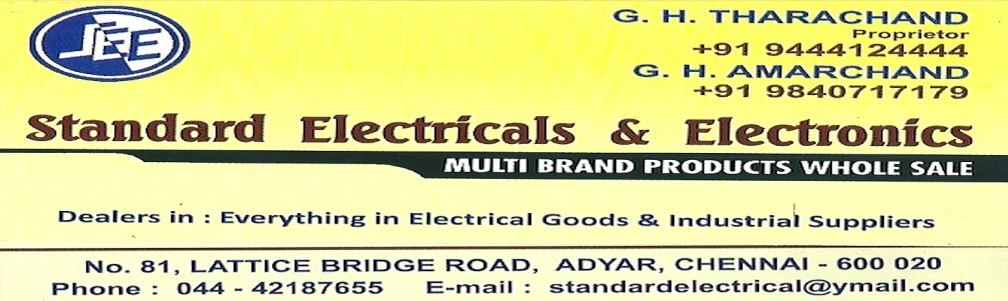 STANDARD ELECTRICALS & ELECTRONICS