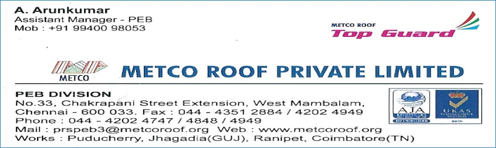 METCO ROOF PRIVATE LIMITED