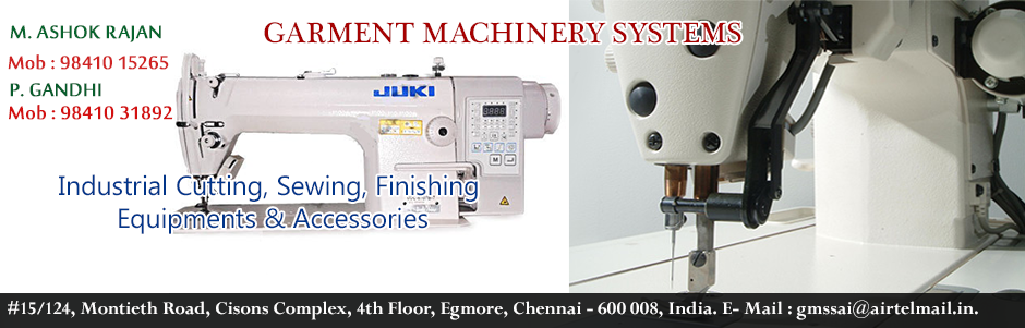 GARMENT MACHINERY SYSTEMS