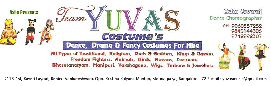 TEAM YUVA'S COSTUME'S