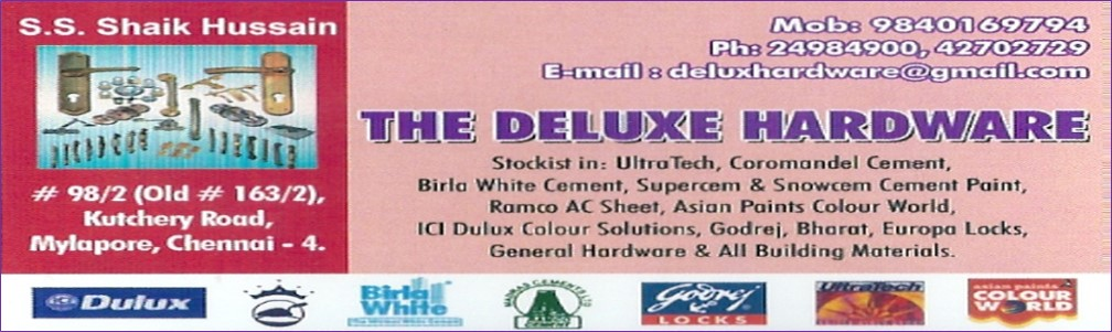 THE DELUXE HARDWARE
